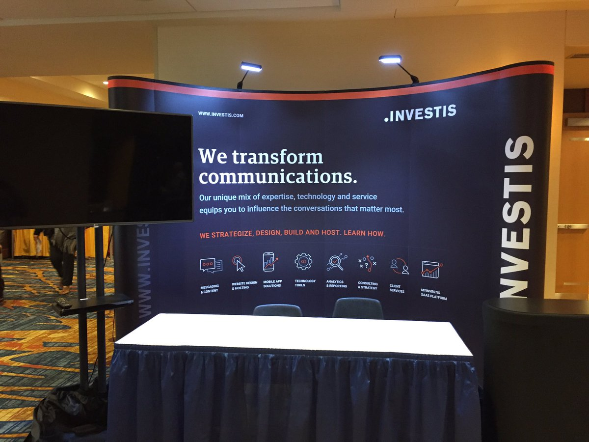 Investis Booth