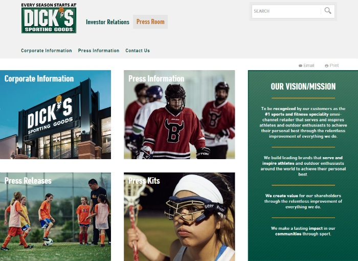 Dick's-Page
